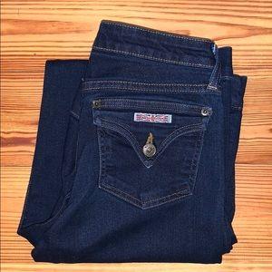 Hudson's W338DIV Bell Bottom Flare Jean, 25x34 EUC